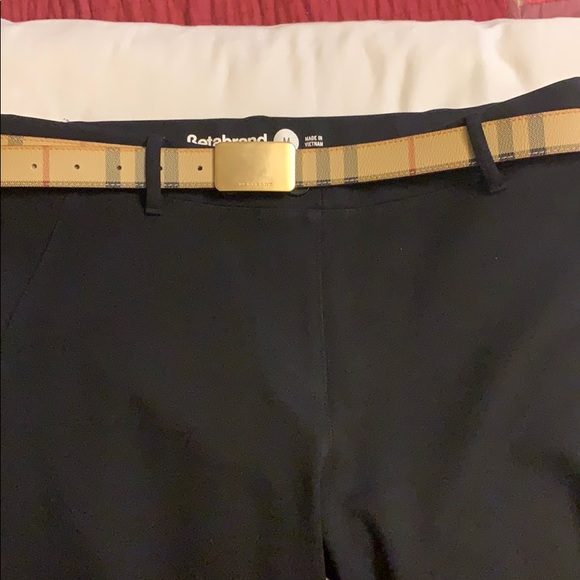 Burberry Accessories - Authentic Burberry woman's belt